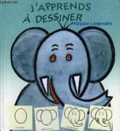 J'Apprends A Dessiner - Couverture - Format classique