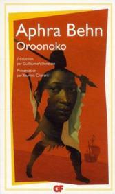 Oroonoko - Couverture - Format classique