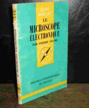 Le Microscope Electronique - Couverture - Format classique