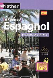 Pack 3 CD ; espagnol ; immersion orale (édition 2009) - Couverture - Format classique