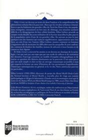 Tally's corner ; les Noirs du coin de la rue - 4ème de couverture - Format classique