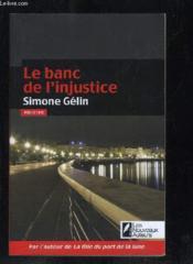 Le banc de l'injustice - Couverture - Format classique