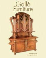 Galle furniture /anglais - Couverture - Format classique