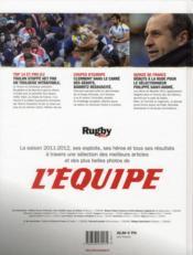 Rugby (édition 2012) - 4ème de couverture - Format classique