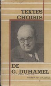 Textes Choisis. - Couverture - Format classique