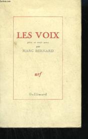 Les Voix. Piece En Trois Actes. - Couverture - Format classique