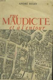 Rue Maudicte Et A L'Entour - Couverture - Format classique