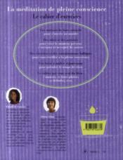 La méditation de pleine conscience, le cahierd'exercices - 4ème de couverture - Format classique