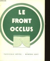 Fascicule Meteo - N°7 - Le Front Occlus - Couverture - Format classique