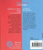 Sindbad Et Le Geant - 4ème de couverture - Format classique