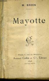 Mayotte. - Couverture - Format classique