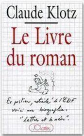 Le livre du roman - Couverture - Format classique
