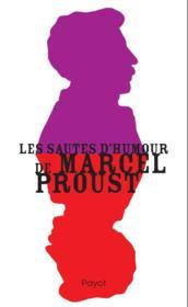Les sautes d'humour de Marcel Proust - Couverture - Format classique
