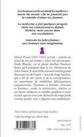 Les sautes d'humour de Marcel Proust - 4ème de couverture - Format classique