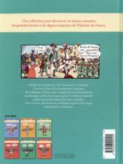 L'Histoire de France en BD ; Francois 1er et la Renaissance - 4ème de couverture - Format classique