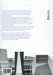 Précisions sur un état présent de l'architecture - 4ème de couverture - Format classique