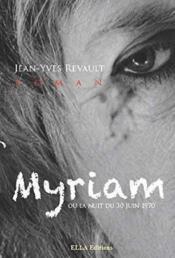 Myriam - Couverture - Format classique