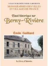 Berny-Riviere (Essai Historique Sur) - Couverture - Format classique