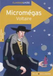 Micromégas, de Voltaire - Couverture - Format classique