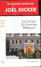 Le livre des Baltimore - Couverture - Format classique