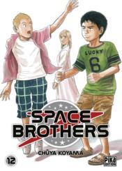 Space brothers T.12 - Couverture - Format classique