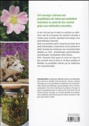 Soins naturels pour le chien - 4ème de couverture - Format classique