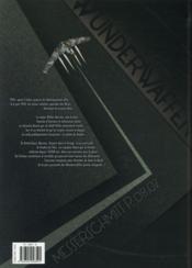 Wunderwaffen T.8 ; la foudre de Thor - 4ème de couverture - Format classique