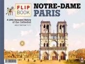 Le flip-book de Notre-Dame de Paris - 4ème de couverture - Format classique