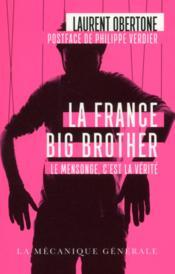 La France big brother - Couverture - Format classique