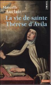La vie de sainte Thérèse d'Avila - Couverture - Format classique