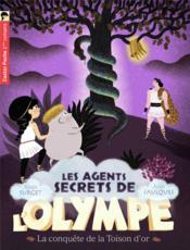Les agents secrets de l'Olympe T.7 ; la conquête de la toison d'or - Couverture - Format classique