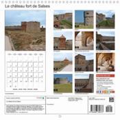 Le château fort de Salses (Calendrier mural 2017 Square) - 4ème de couverture - Format classique