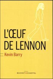 L'oeuf de Lennon - Couverture - Format classique