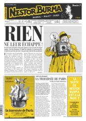 Journal de Nestor Burma ; corrida aux Champs Elysées N.3 - Couverture - Format classique