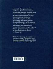 Le sillon - 4ème de couverture - Format classique