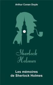 Les mémoires de Sherlock Holmes - Couverture - Format classique