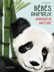 Bébés animaux ; grandeur nature - Couverture - Format classique