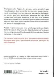 Napoli mon amour - 4ème de couverture - Format classique