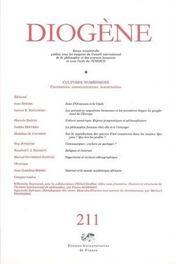 REVUE DIOGENE N.211 ; cultures numériques - Intérieur - Format classique