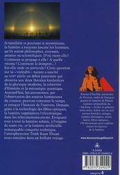 Voyage au coeur de la lumière - 4ème de couverture - Format classique