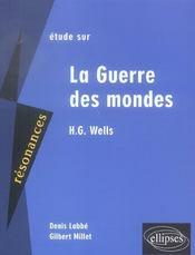 Etude Sur La Guerre Des Mondes H.G. Wells - Intérieur - Format classique