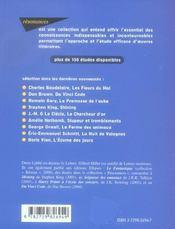 Etude Sur La Guerre Des Mondes H.G. Wells - 4ème de couverture - Format classique