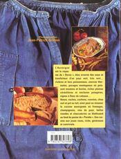 Aimer la cuisine d'Auvergne - 4ème de couverture - Format classique