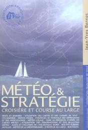 Météo et stratégie ; croisière et course au large - Intérieur - Format classique