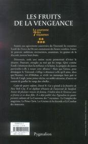Les fruits de la vengeance - 4ème de couverture - Format classique