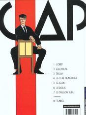 Capricorne T.7 ; le dragon bleu - 4ème de couverture - Format classique