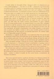Route Pour Nulle Part (La) - 4ème de couverture - Format classique