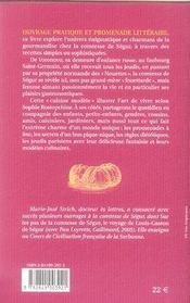 La cuisine modèle de la Comtesse de Ségur - 4ème de couverture - Format classique