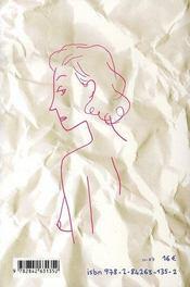 Vieilles peaux - 4ème de couverture - Format classique