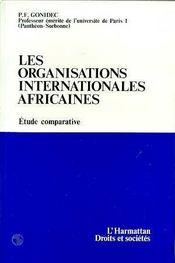 Les Organisations Internationales Africaines - Intérieur - Format classique